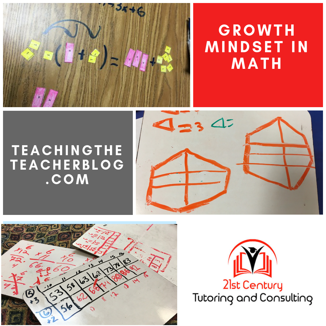 Growth Mindset Part 1: Math