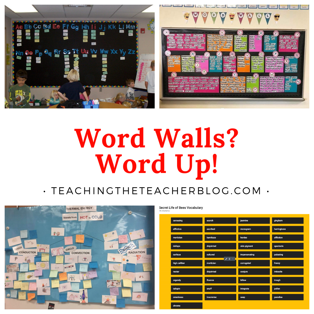 Word Walls? Word Up!