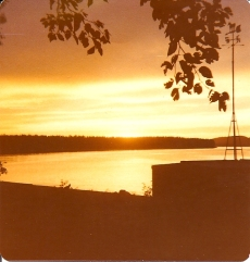 Sunset at Camp
