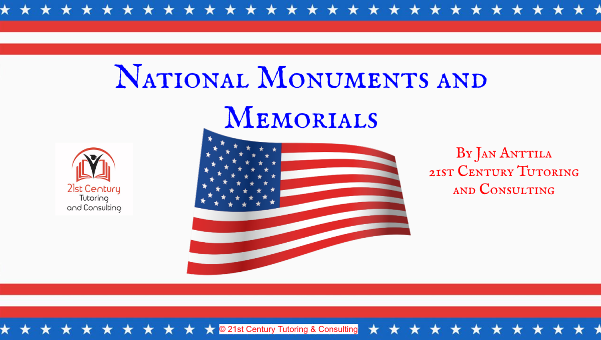 Persuasive Writing Project: What Famous American Needs a NationalMonument?